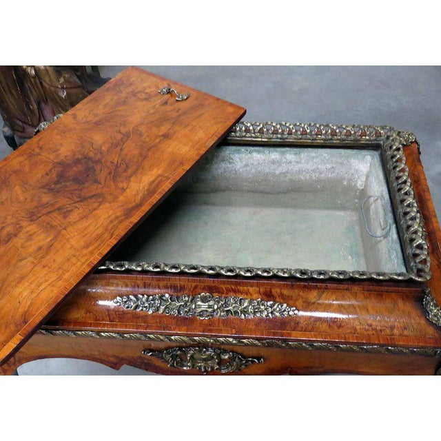 Early 20th Century Louis XV Style Inlaid Cellarette For Sale - Image 5 of 7