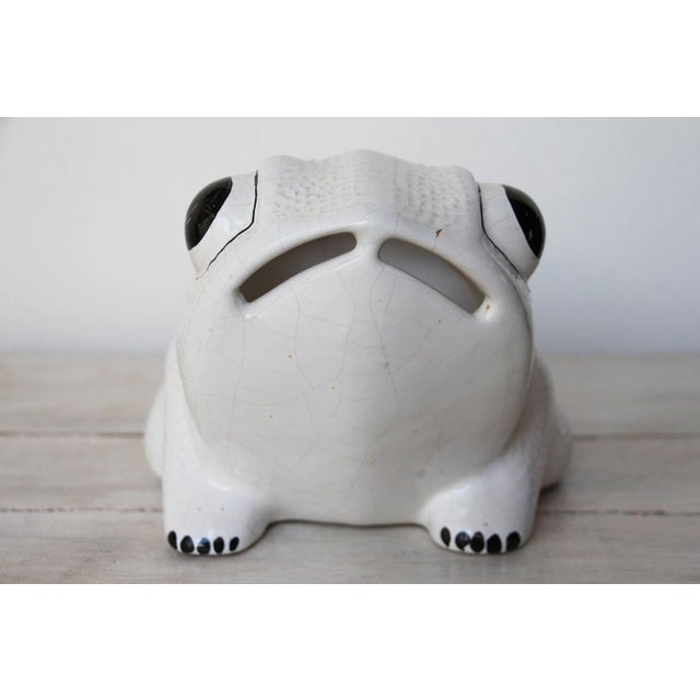 Safari 1970s Hobnail Frog Planter in the Style of Jean Roger For Sale - Image 3 of 13