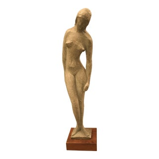 1960s Vintage Female Nude Sculpture by Vincent Glinsky For Sale