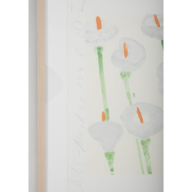 """Donald Sultan """"Lilies"""" Serigraph on Paper For Sale In New York - Image 6 of 11"""