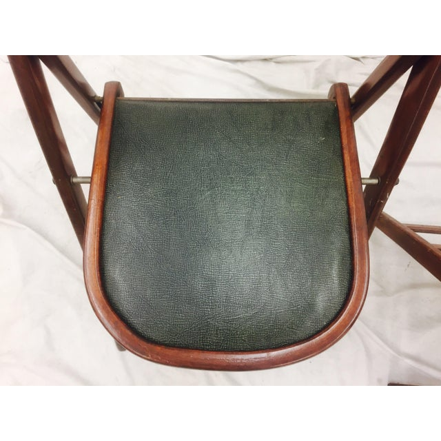 Vintage Bentwood Folding Chairs - Set of 6 For Sale - Image 9 of 11
