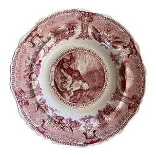 19th Century Sun of Righteous Transfer Bowl For Sale