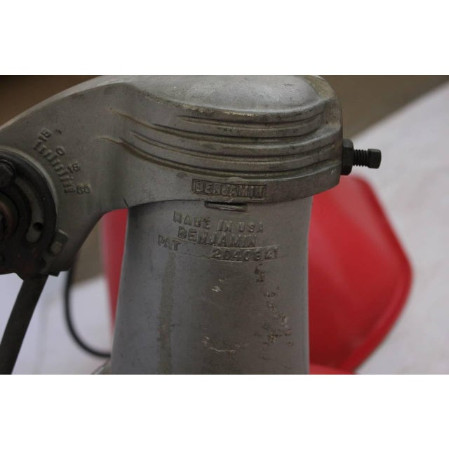 Large 1930s American Industrial Ceiling Light or Wall Sconce - Image 3 of 3