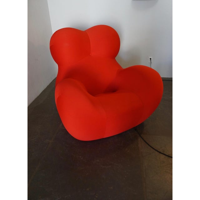 Mid-Century Modern Gaetano Pesce Up5 and Up6 Lounge Chair and Ottoman for B&B Italia For Sale - Image 3 of 8