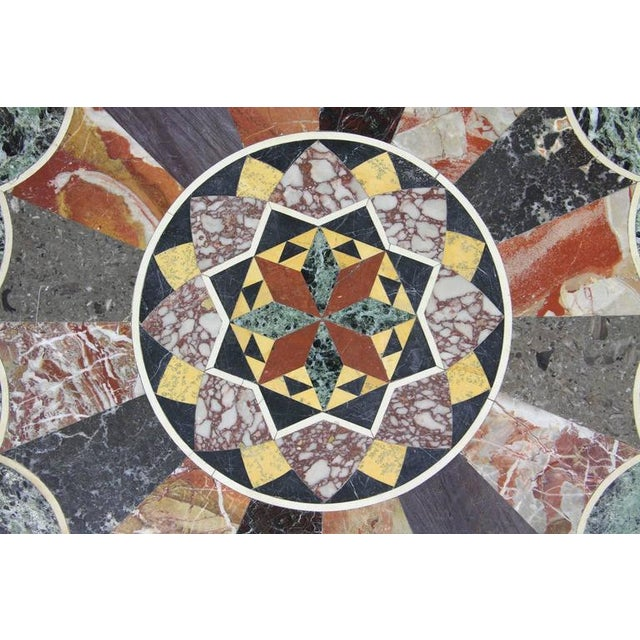 Marble Etruscan Revival Specimen Marble Table For Sale - Image 7 of 8