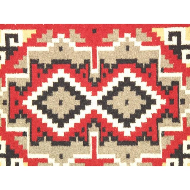 "Navajo Decorative Hand-Woven Rug - 4' X 5'11"" - Image 2 of 3"