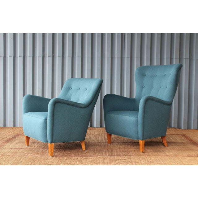 Dark Teal Armchair by Ernest Race, 1940s, England For Sale In Los Angeles - Image 6 of 9