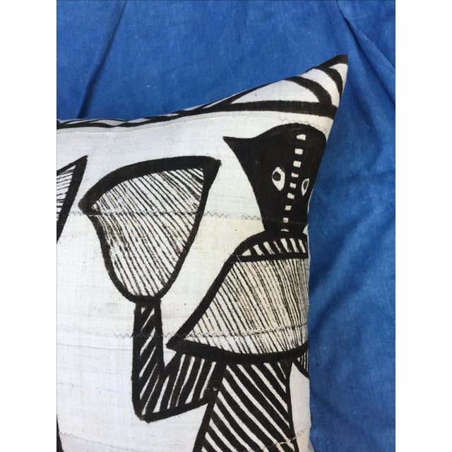 African African Tribal Mudcloth Pillow For Sale - Image 3 of 7