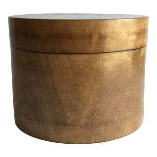 Mid-Century Wood Box