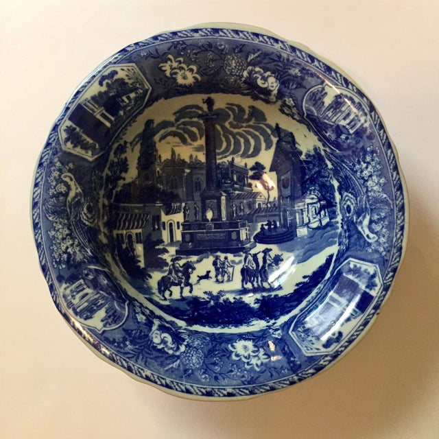 Victoria Ware Blue Town Ironstone Bowl - Image 2 of 6