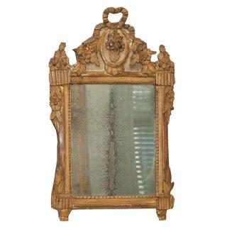 18th C Louis XVI Gilt woodTrumeau For Sale