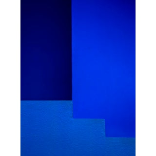 """""""Blue"""" Contemporary Minimalist Limited Edition Photograph by Daniel Holfeld For Sale"""