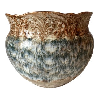 "Antique Weller Pottery 10"" Jardiniere-Arts & Crafts"