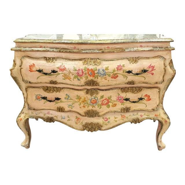 Venetian Rococo Commode Circa 1900 For Sale