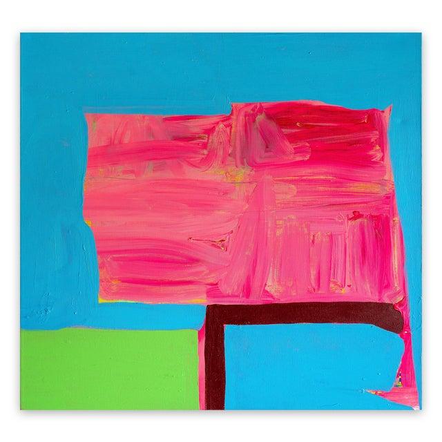 "Blue Paul Behnke ""Vandervoort Place"", Painting For Sale - Image 8 of 8"