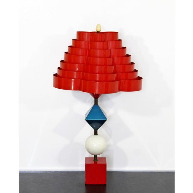 1960s Mid Century Modern Gerald Thurston Lightolier Lamp For Sale - Image 12 of 12