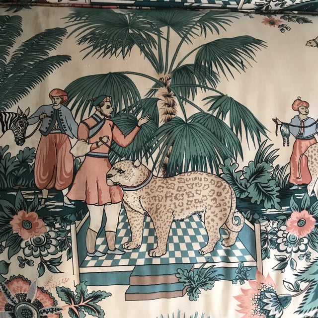 1980s 1980s Vintage Pearson British West Indies Jungle Print Sofa For Sale - Image 5 of 13