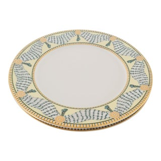French Style Fine China Dinner Plates - Set of 2