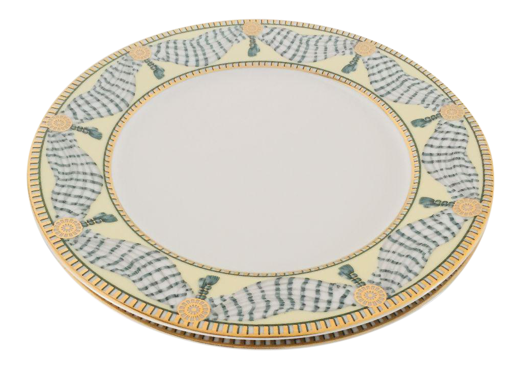 French Style Fine China Dinner Plates - Set of 2  sc 1 st  Chairish & French Style Fine China Dinner Plates - Set of 2 | Chairish