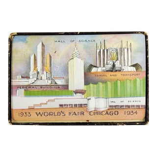 1933 Chicago World's Fair Playing Cards