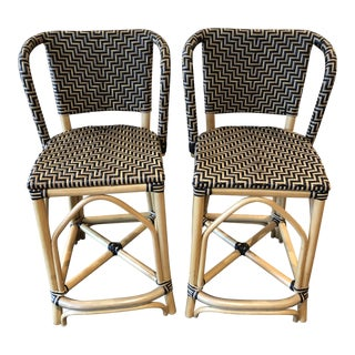 Cafe Counter Stools - a Pair For Sale