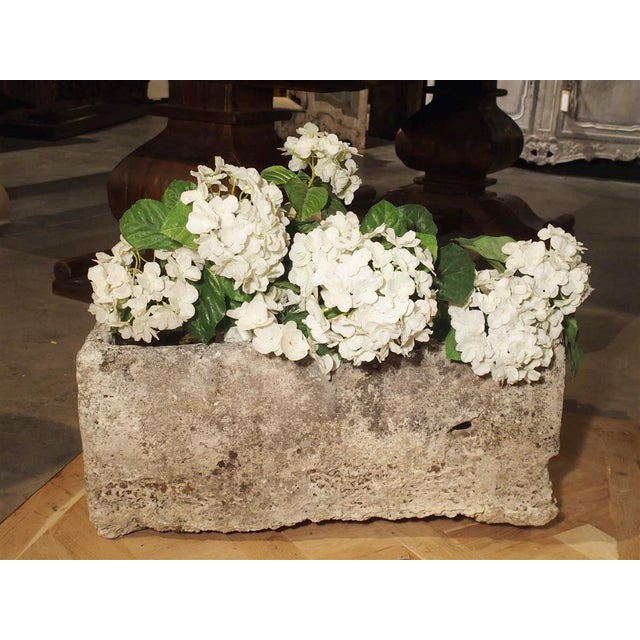 18th Century French Stone Farmhouse Trough For Sale - Image 10 of 13