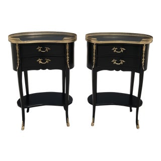 1920s French Louis XV Side Tables - a Pair For Sale