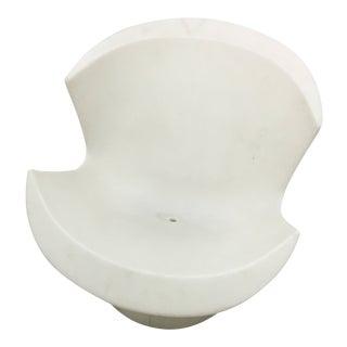 Mid-Century Modern Karim Rashid White Plastic Kite Chair
