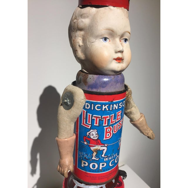 Recomposed Antique Doll- Little Buster For Sale - Image 5 of 6
