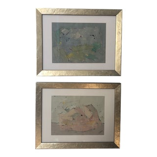Original Alexis Walter Paintings - a Pair For Sale