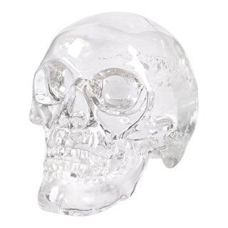 Rock Crystal Skull by Andreas von Zadora-Gerlof
