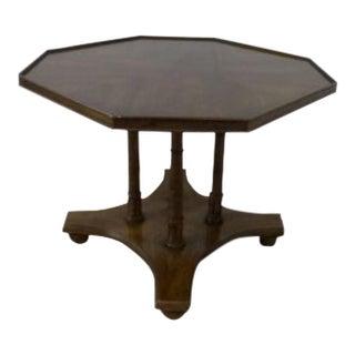 Drexel Heritage Faux Bamboo Regency End Table