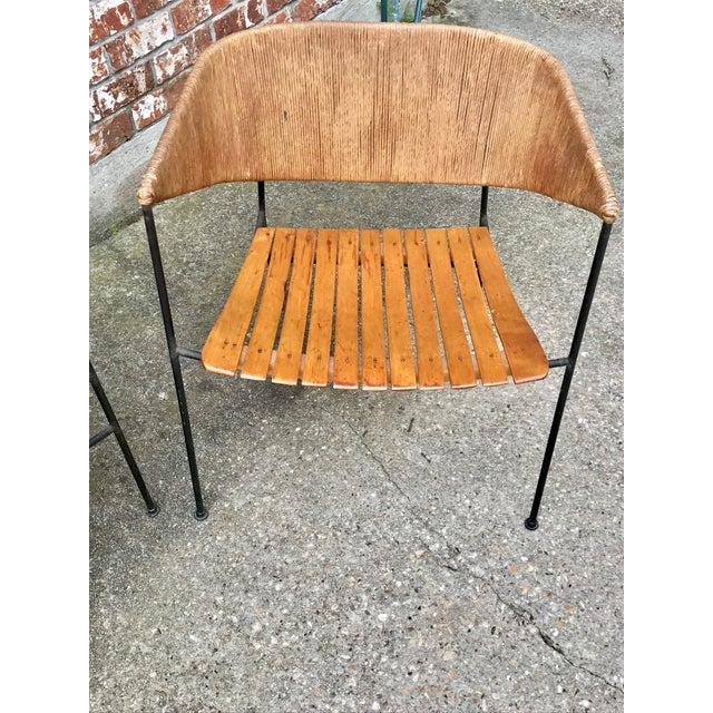 Metal Mid-Century Modern Arthur Umanoff for Shaver, Howard & Raymor Seating Set- 4 Pieces For Sale - Image 7 of 13