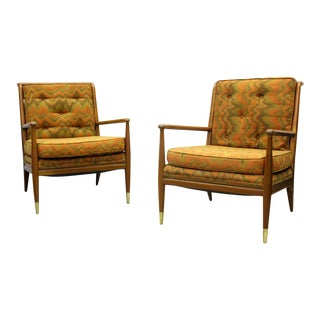 John Stuart Clingman for Widdicomb Lounge Chairs For Sale