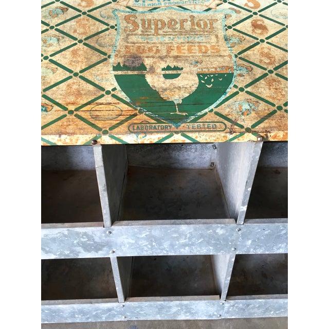 Vintage Chicken Coop Industrial Shelving - Image 5 of 8