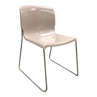 """1980s Vintage Fixtures Furniture Contract Stacking """"d'"""" Chairs - Set of 4 Preview"""