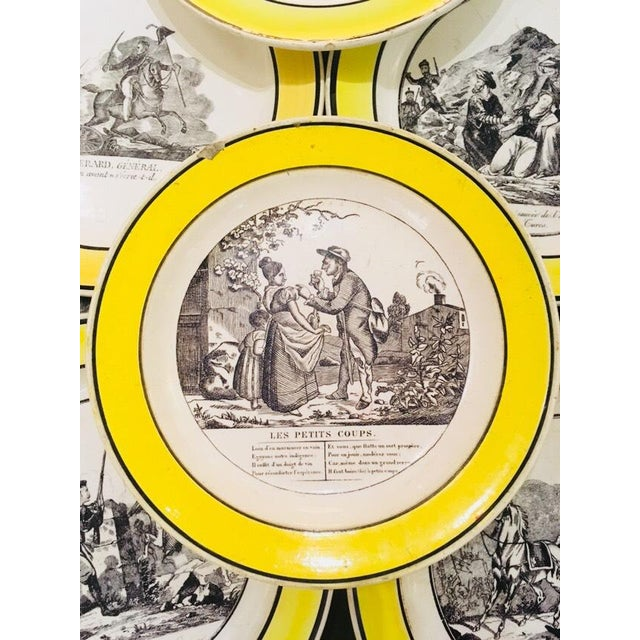 French Collection of Creamware Plates and Serving Pieces - 10 Pieces For Sale - Image 3 of 8