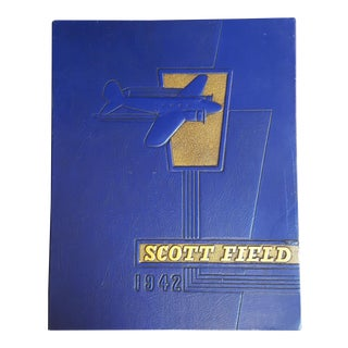 Vintage Scott Field 1942 Book