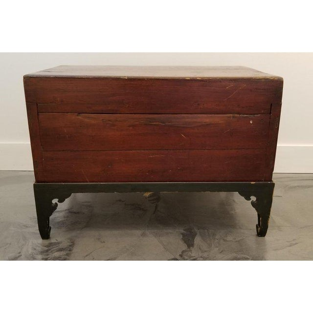 Chinese Trunk on Stand For Sale - Image 11 of 13