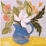 Image of April Florals 1 Original Painting by Marisa Añón. For Sale