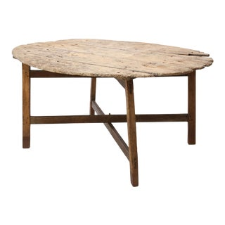 Unusually Large Early Vendange Table For Sale