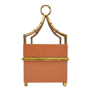 Chelsea House Orange & Gold Box