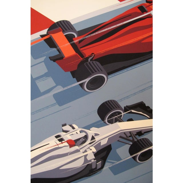 Contemporary 2019 Montreal Grand Prix Poster, Steve Thomas For Sale - Image 3 of 5