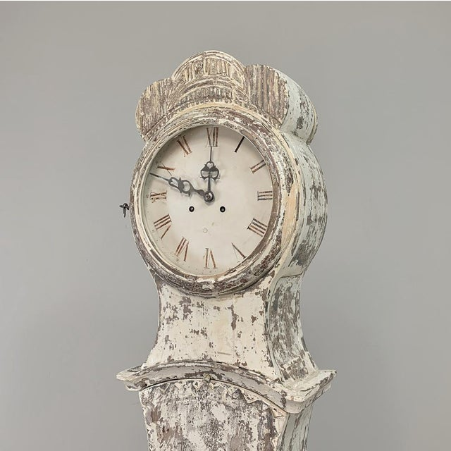 19th Century Swedish Long Case Clock For Sale - Image 9 of 13