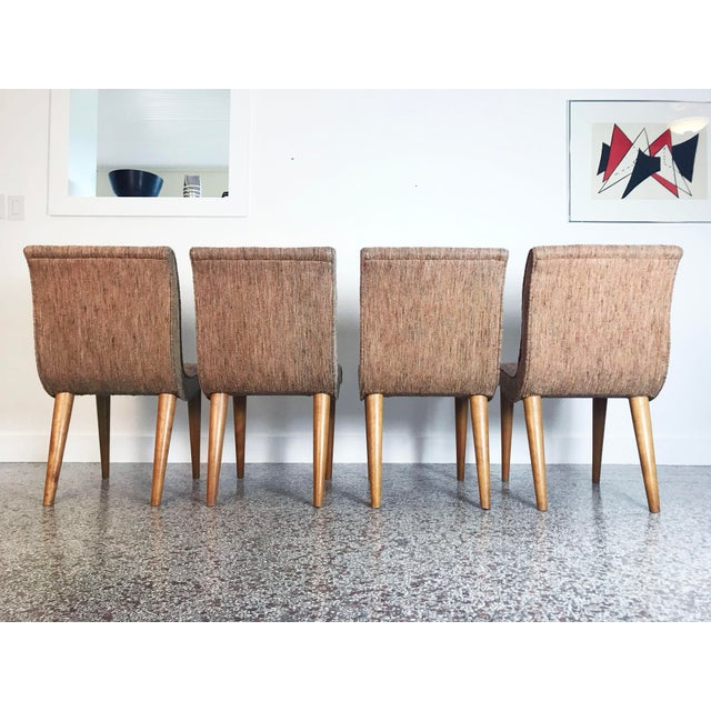 Russel Wright Scoop Dining Chairs - Set of 4 For Sale - Image 11 of 13