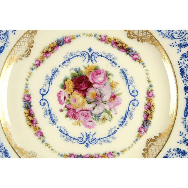 Traditional Black Knight Margarite Salad Plate - Set of 8 For Sale - Image 3 of 7