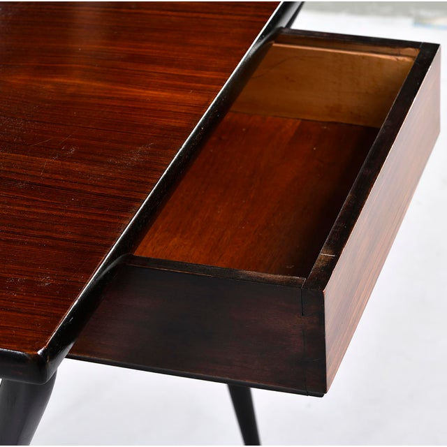 Small Mid Century Italian Desk For Sale In Detroit - Image 6 of 12