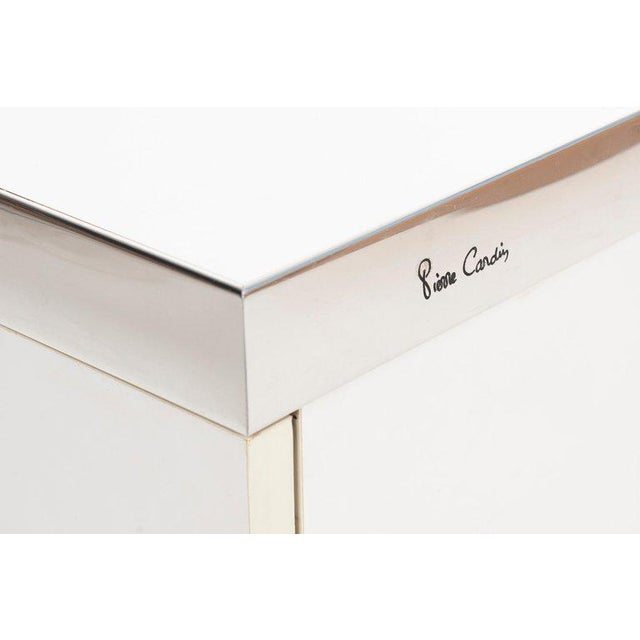 Pierre Cardin Pair of Nightstands For Sale - Image 9 of 13