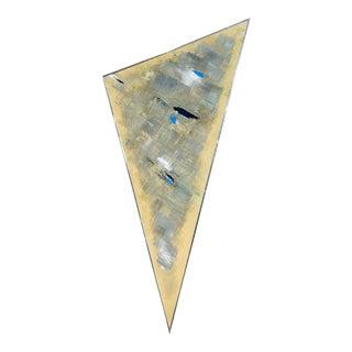 Postmodern Original Geometric Framed Painting 1988 For Sale