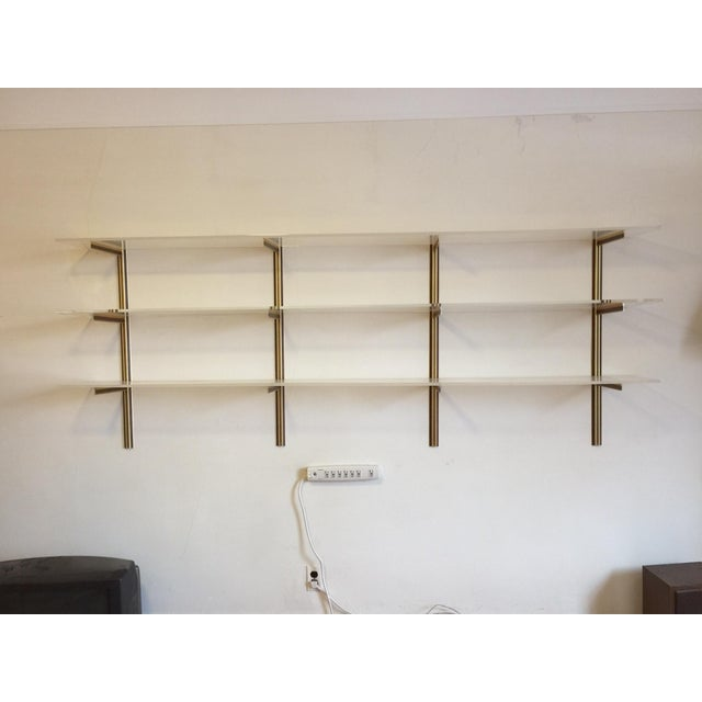 Vintage Lucite Wall-Mounted Shelf - Image 3 of 6